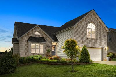 Clarksville Single Family Home Under Contract - Showing: 1229 Fossil Dr