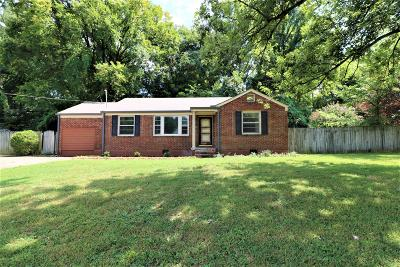 Nashville Single Family Home For Sale: 97 McCall St