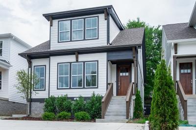 Nashville Single Family Home For Sale: 2507 B Solon