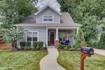Nashville Single Family Home For Sale: 904 S 12th St