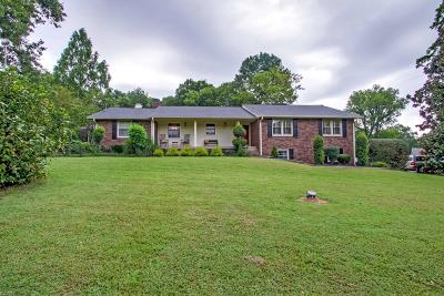 Mount Juliet Single Family Home For Sale: 1160 Vanderbilt Rd