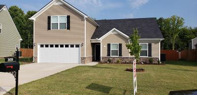 Spring Hill Single Family Home Under Contract - Not Showing: 2133 Longhunter Chase Dr
