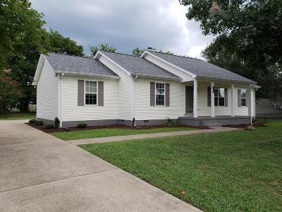 Murfreesboro TN Single Family Home For Sale: $199,900