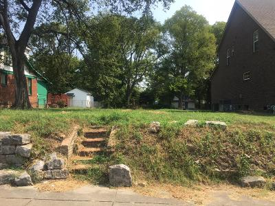 Nashville Residential Lots & Land For Sale: 1704 10th Ave N
