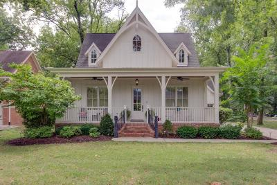 Franklin Single Family Home For Sale: 1005 Evans St