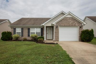 Spring Hill  Single Family Home For Sale: 3014 Deer Trail Dr