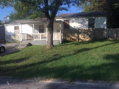 Nashville TN Single Family Home For Sale: $234,900