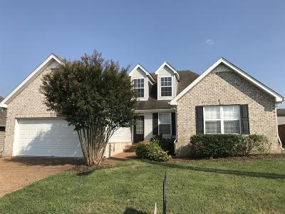 Spring Hill Single Family Home For Sale: 3009 Baker Way