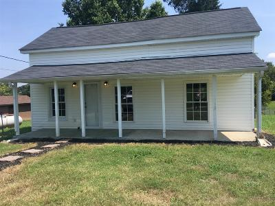 Clarksville Single Family Home Under Contract - Showing: 4567 Old Ashland City Rd S