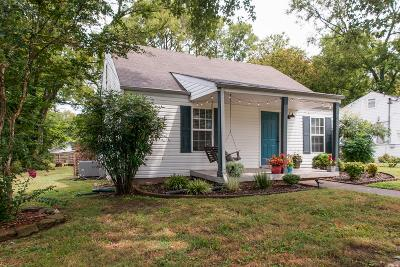 East Nashville Single Family Home For Sale: 1517 Ward Ave