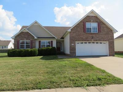 Clarksville Single Family Home For Sale: 1168 Country Fields Ln