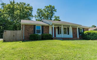 Clarksville Single Family Home Under Contract - Showing: 502 Ginkgo Dr