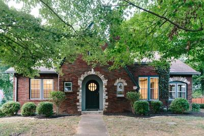 Nashville Single Family Home For Sale: 240 Cherokee Rd