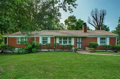 Nashville Single Family Home For Sale: 214 Emery Dr