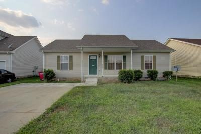 Clarksville Single Family Home For Sale: 509 Fox Trot Dr