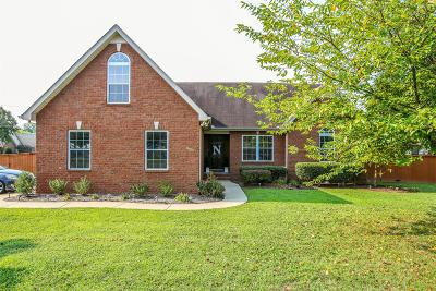Smyrna Single Family Home Under Contract - Showing: 9001 Merlot Dr