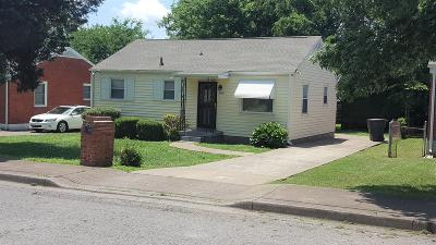 Nashville Single Family Home For Sale: 1725 26th Ave N