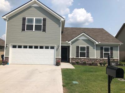 Murfreesboro Single Family Home For Sale: 1617 Ursuline Ln