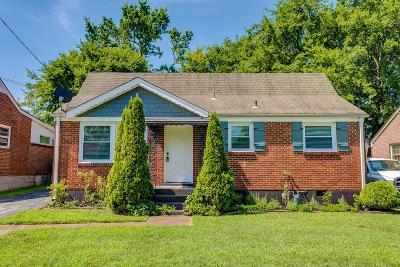 Nashville Single Family Home For Sale: 6201 Morrow Road