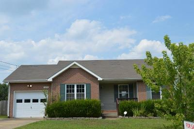 Clarksville Single Family Home For Sale: 979 Roedeer Dr