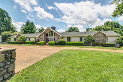 Nashville TN Single Family Home For Sale: $699,900