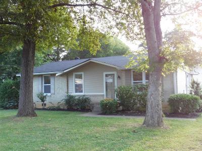 Lebanon Single Family Home For Sale: 810 Kent Dr