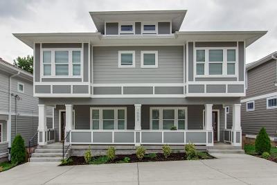 Nashville Single Family Home For Sale: 1003 B Spain Ave