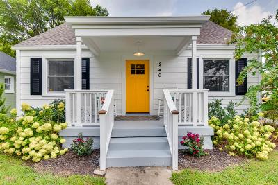 Nashville Single Family Home For Sale: 240 Antioch Pike