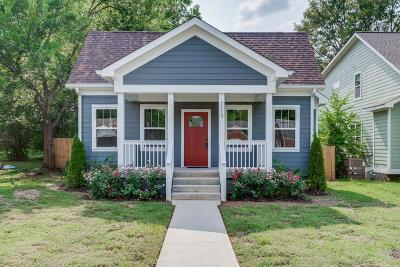 Nashville Single Family Home For Sale: 1713 N 21st Ave