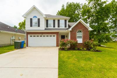 Robertson County Single Family Home For Sale: 891 Picadilly Dr