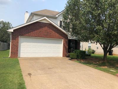 Murfreesboro Single Family Home For Sale: 1414 Amal Dr