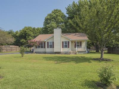 Murfreesboro Single Family Home For Sale: 7042 Pulley Dr