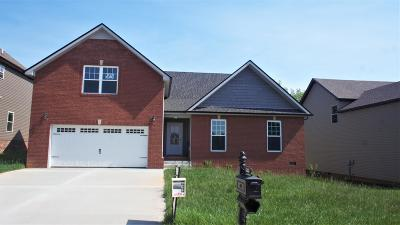 Clarksville TN Single Family Home For Sale: $240,492