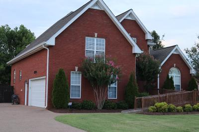 Lebanon TN Single Family Home Under Contract - Not Showing: $354,900