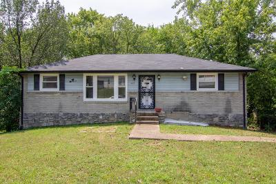 Nashville Single Family Home For Sale: 3127 Wilmoth Rd