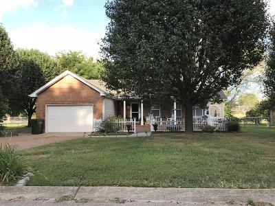 Sumner County Single Family Home Under Contract - Not Showing: 104 Woodcrest Pt