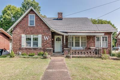 Nashville Single Family Home For Sale: 1023 Maynor St
