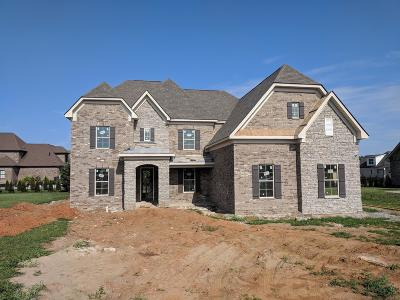 Murfreesboro Single Family Home For Sale: 2817 Battleground Drive -lot 95