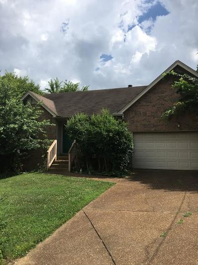 Davidson County Single Family Home For Sale: 608 Cobble Court