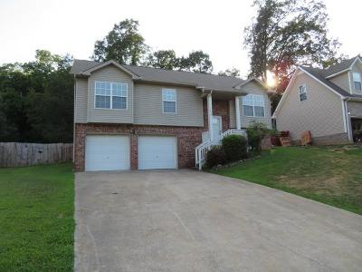 Christian County, Ky, Todd County, Ky, Montgomery County Single Family Home Under Contract - Not Showing: 1250 Kendall Dr