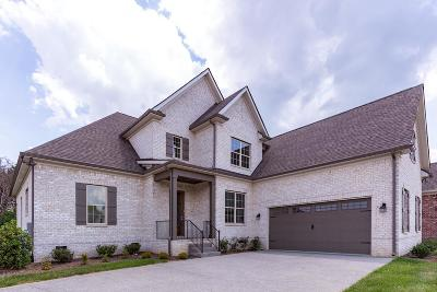 Williamson County Single Family Home For Sale: 829 Nolenmeade Pl, Lot 21