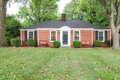 Nashville Single Family Home For Sale: 203 Cumberland Cir.