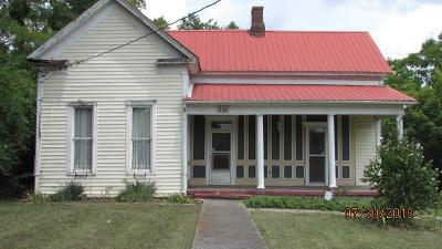 Lewisburg Single Family Home For Sale: 530 Franklin Ave