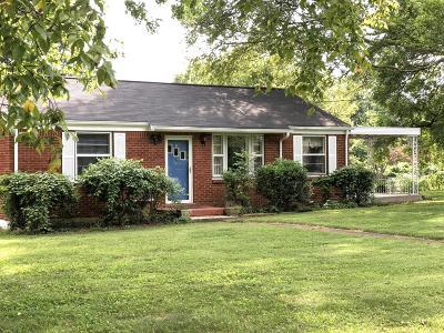 Davidson County Single Family Home For Sale: 315 Luna Dr