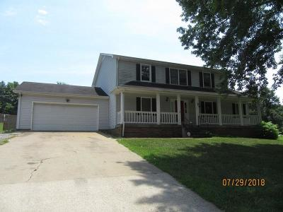 Clarksville Single Family Home For Sale: 3425 Clearwater Dr