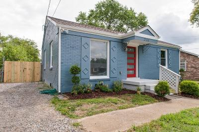 Nashville Single Family Home For Sale: 2703 Oneal