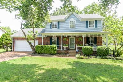 Nashville Single Family Home For Sale: 309 Clearlake Dr W