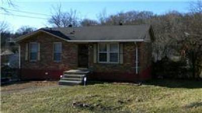 Nashville Single Family Home For Sale: 407 Bennett Pl