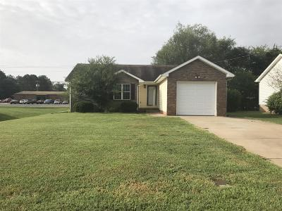 Clarksville Single Family Home For Sale: 212 Moncrest Dr
