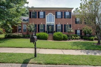 Franklin Single Family Home For Sale: 438 Logans Circle